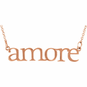 """Amore"" Necklace"