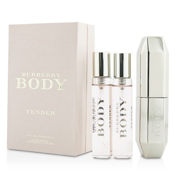 Burberry Body Tender Eau De Toilette Purse Spray 2 Refills