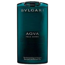 Bvlgari Aqva Shampoo and Shower Gel for men