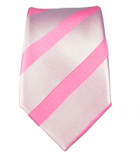 100% Silk Slim Tie by Paul Malone . Pink