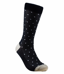Black and White Cotton Socks by Paul Malone