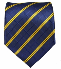 Blue and Gold men's Necktie