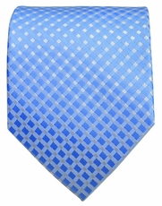 Blue Checkered Men's Necktie