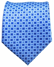 Blue Men's Necktie