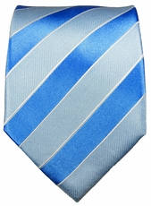 Blue Paul Malone Silk Necktie (763)