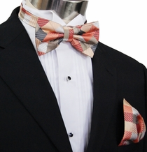 Bow Tie and Pocket Square by Paul Malone (BT252H)