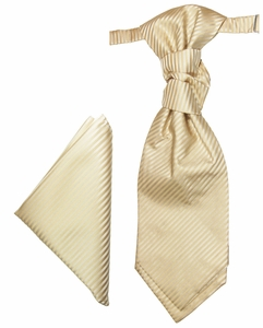 Cappuccino Cravat and Pocket Square (PLV28H)