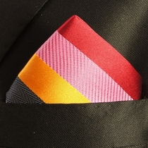 Colorful Mens Silk Pocket Square (H242)