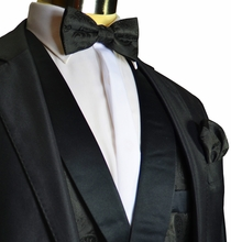 Double Breasted Tuxedo Vest Set by Steven Land