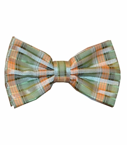 Green and Orange Bow Tie Set (BT438-C)