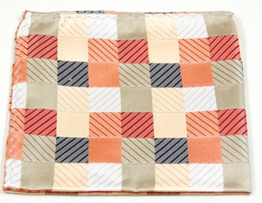 Hand Made Silk Pocket Square (H252)