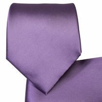 Liberty Purple Necktie and Pocket Square Set (Q100-EEE)