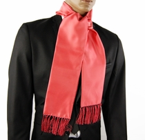 Men's Fashion Scarf . Salmon Pink (SC100-FF)