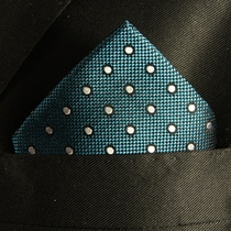 Mens Silk Pocket Square Handkerchief (H628)