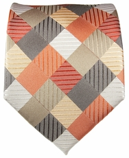 Multi Coloured Paul Malone Silk Necktie (252)