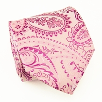 Paisley Paul Malone Neck Tie, Pink (800)
