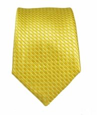Paul Malone Slim Necktie . 2.5' wide . Yellow (Slim506)