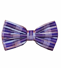 Purple Patterned Bow Tie Set (BT438-H)