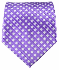 Purple Paul Malone Designer Silk Tie (462)