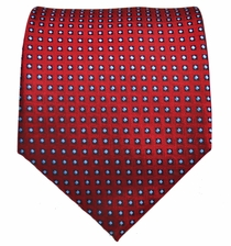 Red and Blue Men's Necktie