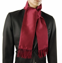 Red and Blue Polka Dots Men's Scarf (SC2009-B)