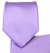 Rich Lavender Necktie and Pocket Square Set (Q100-XX)
