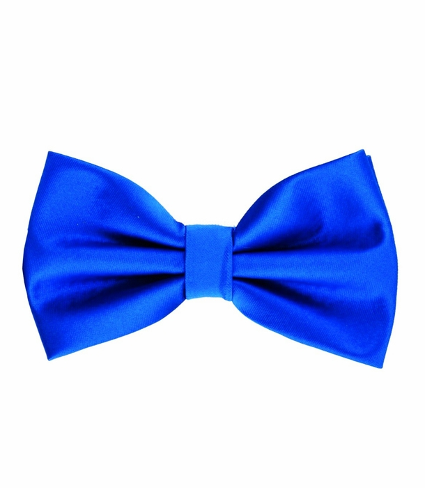 royal blue bow tie and pocket square set bt100 ee