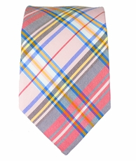 Slim Tie . Cotton a. Silk Blend by Bruno Piattelli