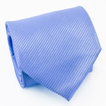 Solid Blue Paul Malone Silk Necktie (901)