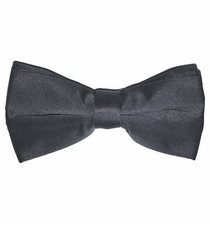Solid Charcoal Bow Tie (BT10-CC)