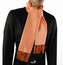 Solid Coral Fashion Scarf (SC100-ii)