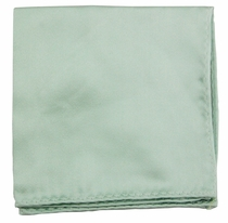 Solid Mint Green Pocket Square (H1001)