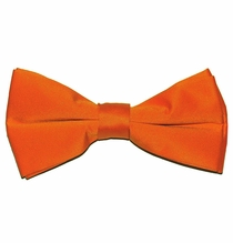Solid Orange Bow Tie (BT10-EE)