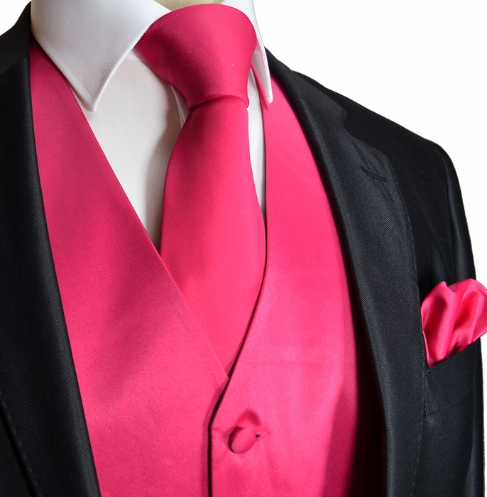 Pink Tie With Tux