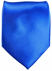 Solid Royal Blue Paul Malone Silk Necktie (349)