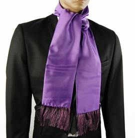 Solid Violet Mens Scarf (SC100-AA)