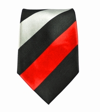Striped Boys Silk Necktie by Paul Malone