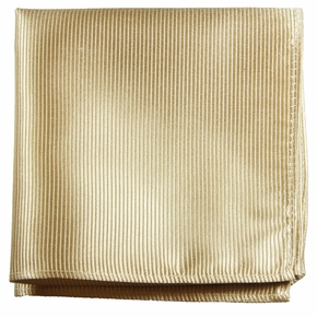 Tan Pocket Square . 100% Silk (H804)