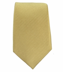 Tan Slim Tie by Paul Malone . 100% Silk