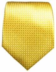 Yellow Paul Malone Silk Tie (506)