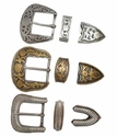 """1 1/2"""" 38MM Western Buckle Sets (Click here to see more Styles)"""
