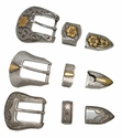 """1""""  25MM Western Buckle Sets (Click here to see more Styles)"""