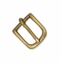 "11551-03  Strap Buckle 5/8"" Solid Brass"