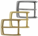 """35mm(1-3/8"""") Wide Simple Metal Buckle (Click here to see more Styles)"""