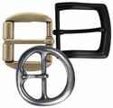 """38mm (1-1/2"""") Wide Simple Metal Buckle (Click here to see more Styles)"""