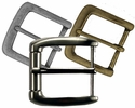 """40mm (1.57"""") Wide Simple Metal Buckle (Click here to see more Styles)"""