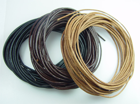 #657-2 Leather Cord 2mm@16 feet