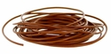 #657-2 Leather Cord 2mm@16 feet - Tan