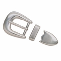 "7224-02 Smooth Buckle Set 1"" (2.5 cm)"