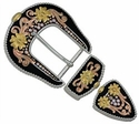 7882-02 Crystal Canyon Buckle Set 1-1/2""